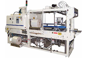 ARPAC Compact Continuous Motion Wrapper With Integral Shrink Tunnel