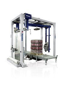 Robopac Helix Automatic Rotating Arm Stretch Wrapping Machine