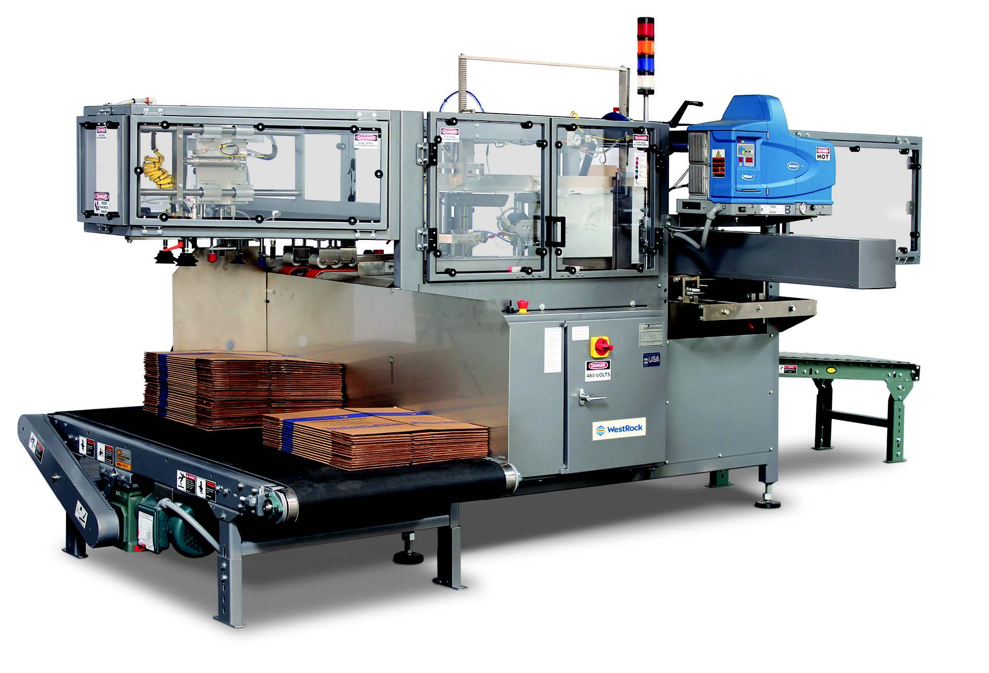 Packomatic® Case Erectors Hot Melt Sealer