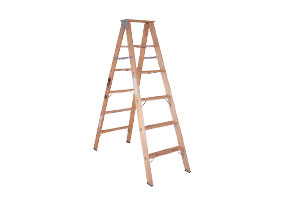 Double Step Wooden  Ladders