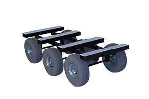 Triple-Axle Piano Dolly